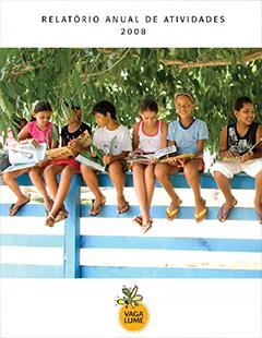 Capa do Relatório de Atividades 2008