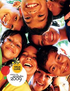 Capa do Relatório de Atividades 2009