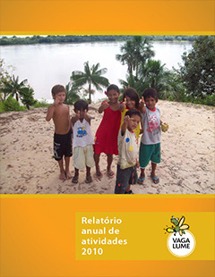 Capa do Relatório de Atividades 2010