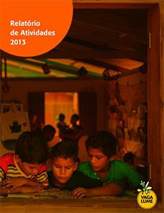 Capa do Relatório de Atividades 2013