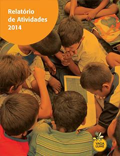 Capa do Relatório de Atividades 2014