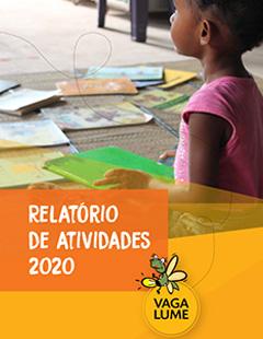 Capa do Relatório de Atividades 2020